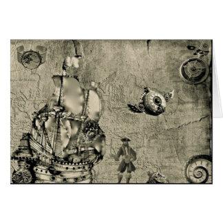 Colección del bandido del tiempo tarjeta de felicitación