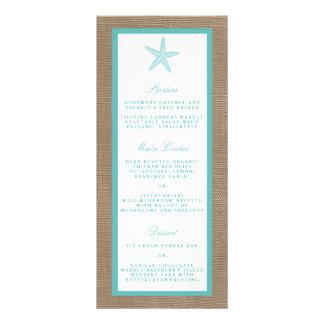 Colección del boda de playa de la arpillera de las lonas personalizadas