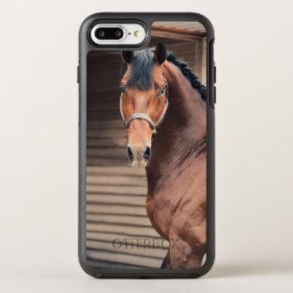 colección del caballo. Oldenburg juguetona Funda OtterBox Symmetry Para iPhone 8 Plus/7 Plus