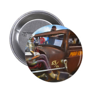 colección del coche chapa redonda de 5 cm