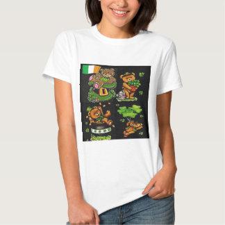 Colección del día de St Patrick del oso de peluche Camisas