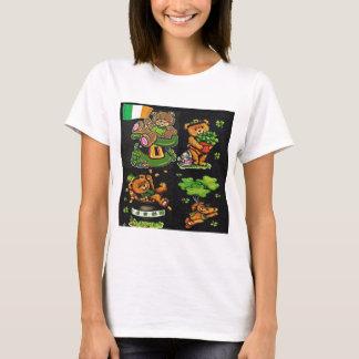 Colección del día de St Patrick del oso de peluche Camiseta