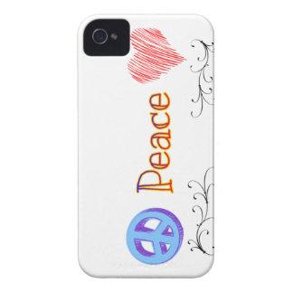 Colección el | de la paz de LuckyStones Case-Mate iPhone 4 Protector