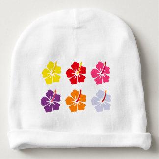 Colección floral gorrito para bebe