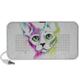coleccion gato sphynx  pop acuarela exclusivo iPhone altavoz