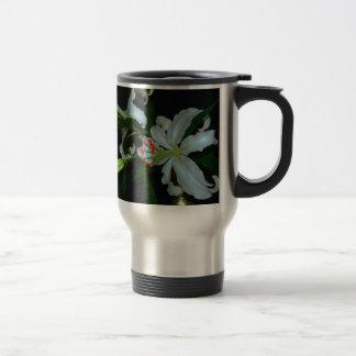 Colección irlandesa del Diseño-Latón y de la flor Taza Térmica