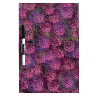 Colección mullida púrpura de la textura pizarra blanca