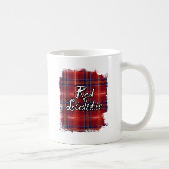 Colección roja de Lichtie de la pintada Taza De Café