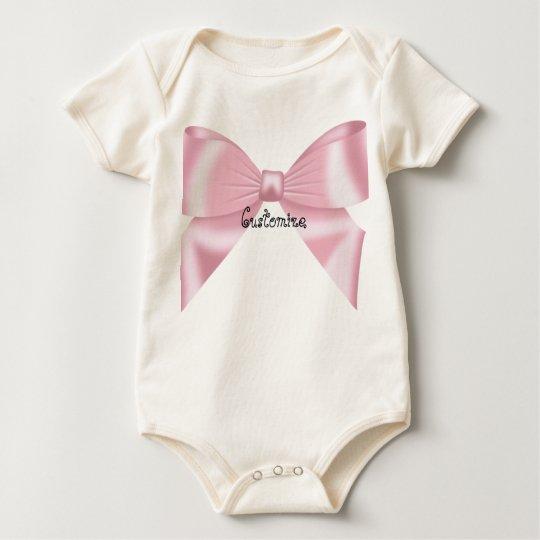 Colección rosada del arco body para bebé