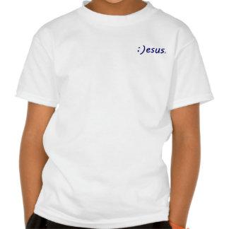 Colección sonriente de la camiseta de Jesús
