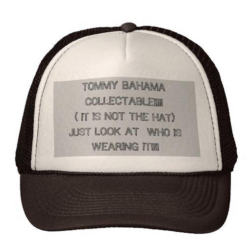 ¡COLECCIONABLE DE TOMMY BAHAMA!!!!! (NO ES LA HA… GORRO DE CAMIONERO