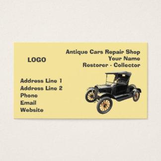 Colector 2 del taller de reparaciones de los tarjeta de visita