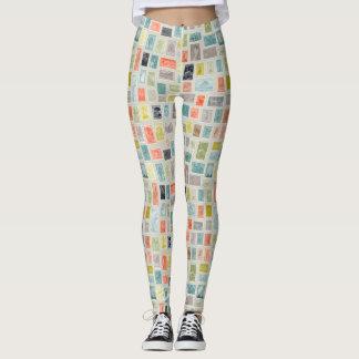 Colector del modelo de los sellos leggings