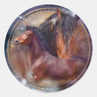 Pegatinas con diseños de caballos en Zazzle