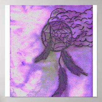 colector ideal púrpura póster
