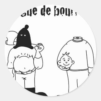 Colega de Verdugo (Francois Ville y Gdb Gdblog) Pegatina