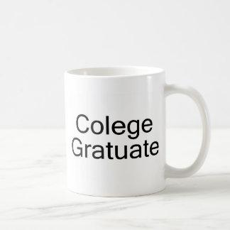 Colege Gratuate (graduado de la universidad) Taza De Café