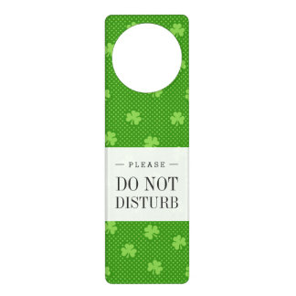 Colgador Para Puerta Día verde de Patricks del santo del modelo del