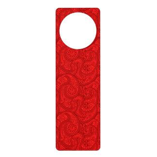 Colgador Para Puerta Paisley roja