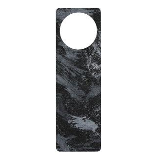 Colgador Para Puerta Tinta blanca en #2 negro