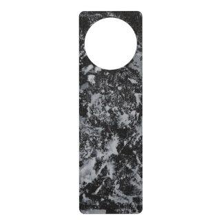 Colgador Para Puerta Tinta blanca en #4 negro