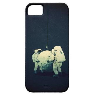 Colgante de la luna funda para iPhone SE/5/5s