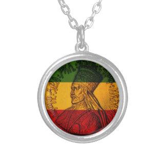 Colgante del collar de Haile Selassie
