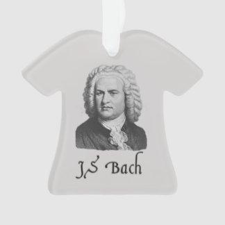 Colgante del ornamento de la camiseta de Bach