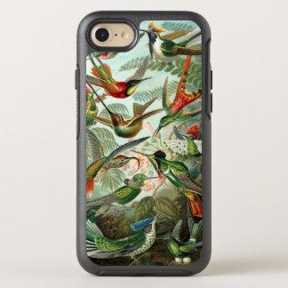 Colibríes de Ernst Haeckel, árboles de los pájaros Funda OtterBox Symmetry Para iPhone 7