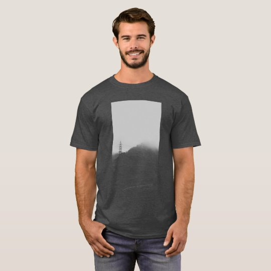 Colina borrosa camiseta