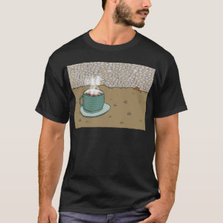 Colina del café express camiseta