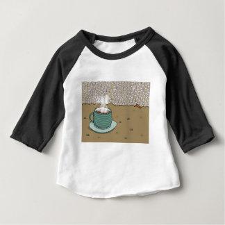 Colina del café express camiseta de bebé