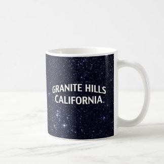 Colinas California del granito Tazas De Café
