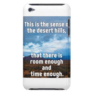 Colinas del desierto funda iPod