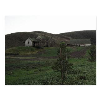 Colinas irlandesas en San Luis Obispo, con el gran Postales