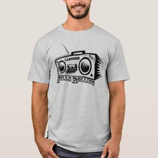 Colinas que ruedan la camiseta con el logotipo de