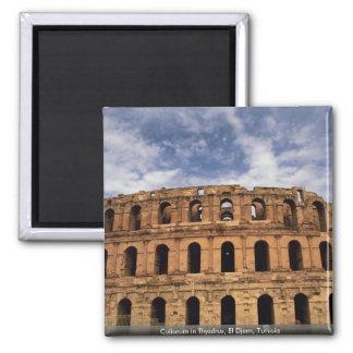 Coliseo en Thysdrus, EL Djem, Túnez Imán Cuadrado