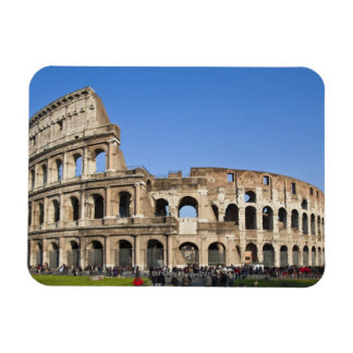 Coliseo romano imán rectangular