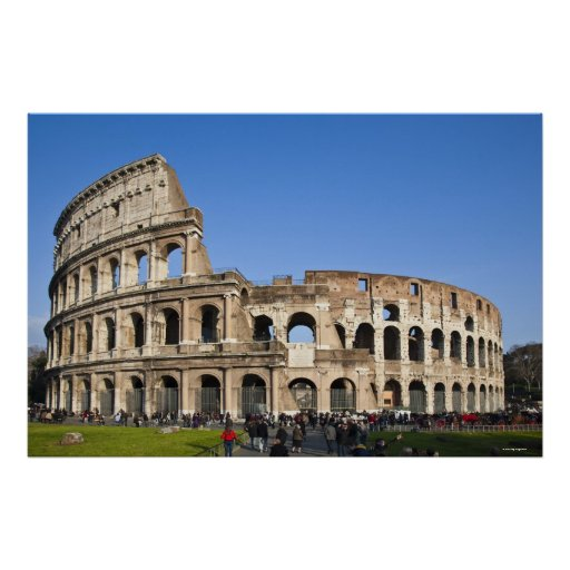 Coliseo romano poster