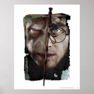 Collage 10 de Harry Potter Póster