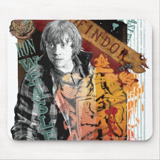 Collage 1 de Ron Weasley Alfombrilla De Raton