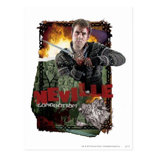 Collage 2 de Neville Longbottom Postal