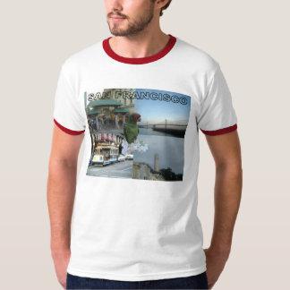 Collage #3 de San Francisco Camisetas