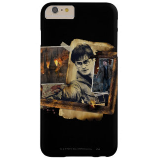 Collage 7 de Harry Potter Funda De iPhone 6 Plus Barely There
