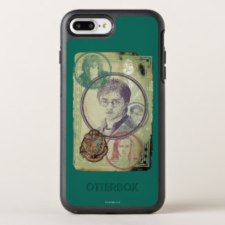 Collage 9 de Harry Potter Funda OtterBox Symmetry Para iPhone 7 Plus
