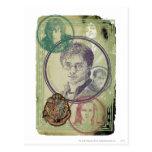 Collage 9 de Harry Potter Postal