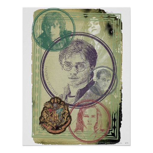 Collage 9 de Harry Potter Impresiones