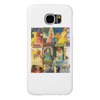 Collage Carteles Antiguos Ferias Andalucia Vintage Funda Samsung Galaxy S6