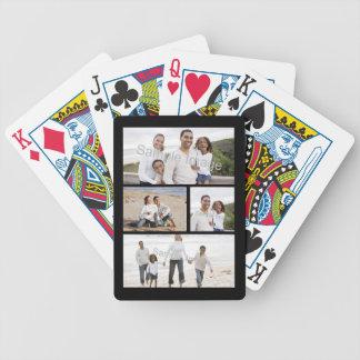 Barajas de cartas con fotos en Zazzle