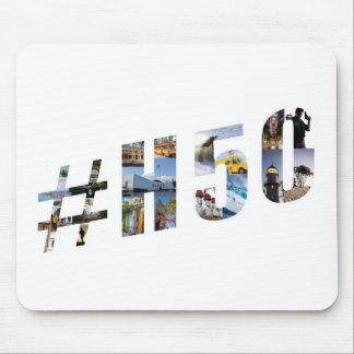 Collage de H50-Tag-Picture Alfombrilla De Ratón